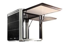 kiosque solaire autonome CUBOX SERCO HOLDING