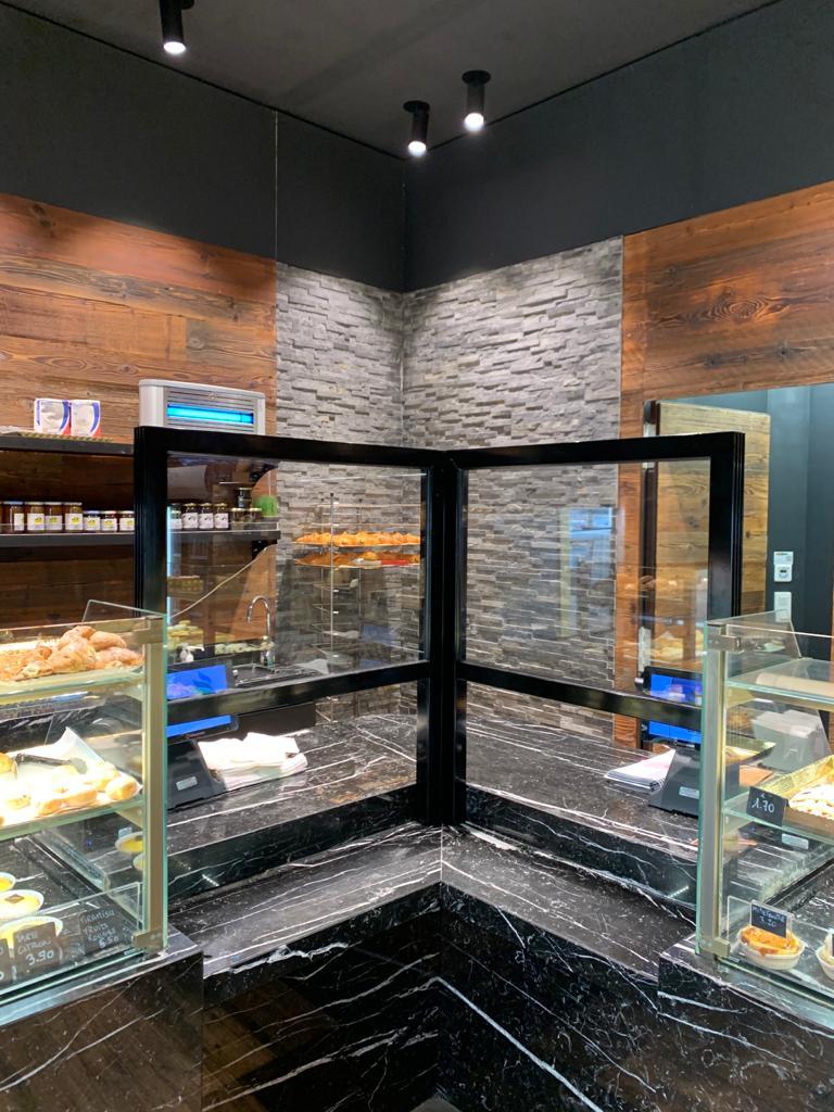 séparation boulangerie mise aux normes covid-19